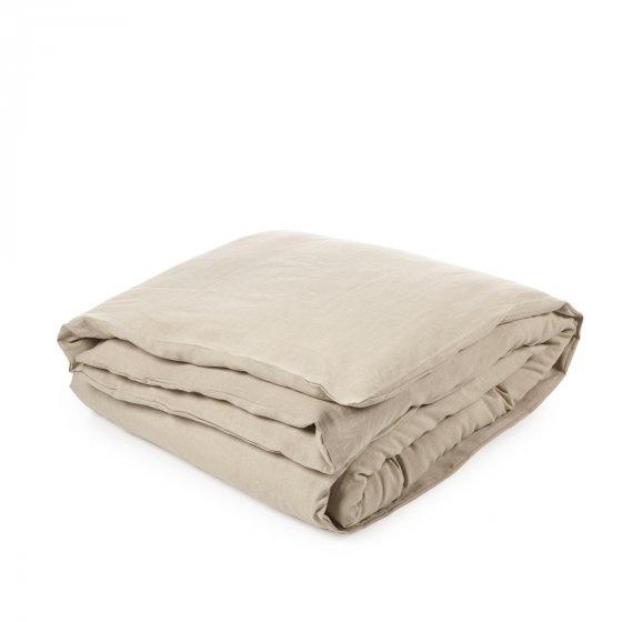 Heritage Flax Duvet & Flat Sheet Set - Queen-1