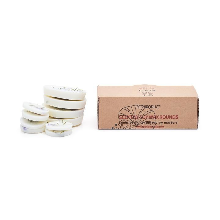 Juniper+Limonium Scented - Soy Wax Rounds-1