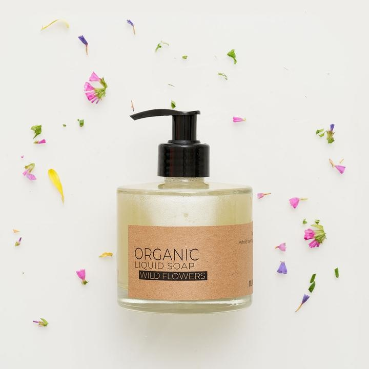 Wild Flowers Organic Liquid Soap-1