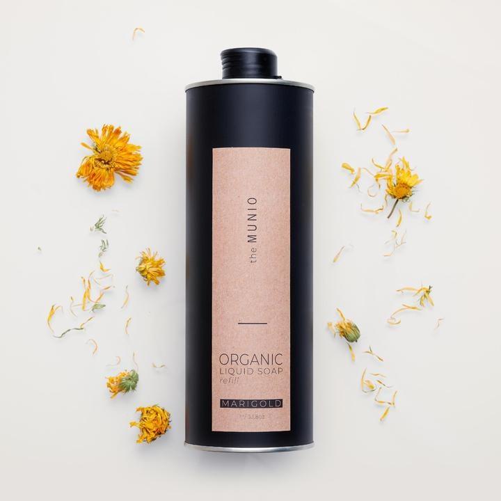 Marigold Organic Liquid Soap - Refill-1