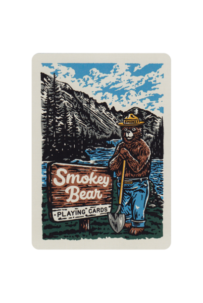 Smokey Bear Playing Cards