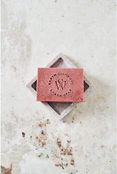 Juniper + Grapefruit w/ French Rose Clay Soap