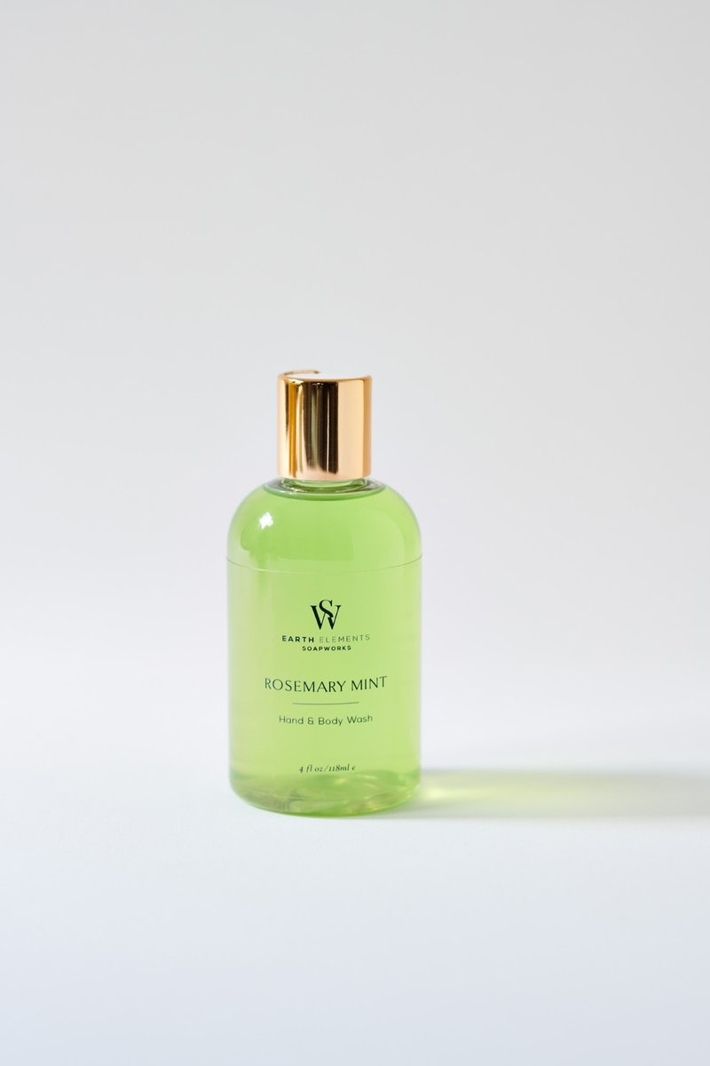 Rosemary Mint Hand + Body Wash-1