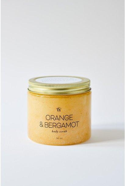 Orange + Bergamot Body Scrub