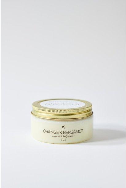 Orange +  Bergamot Body Butter