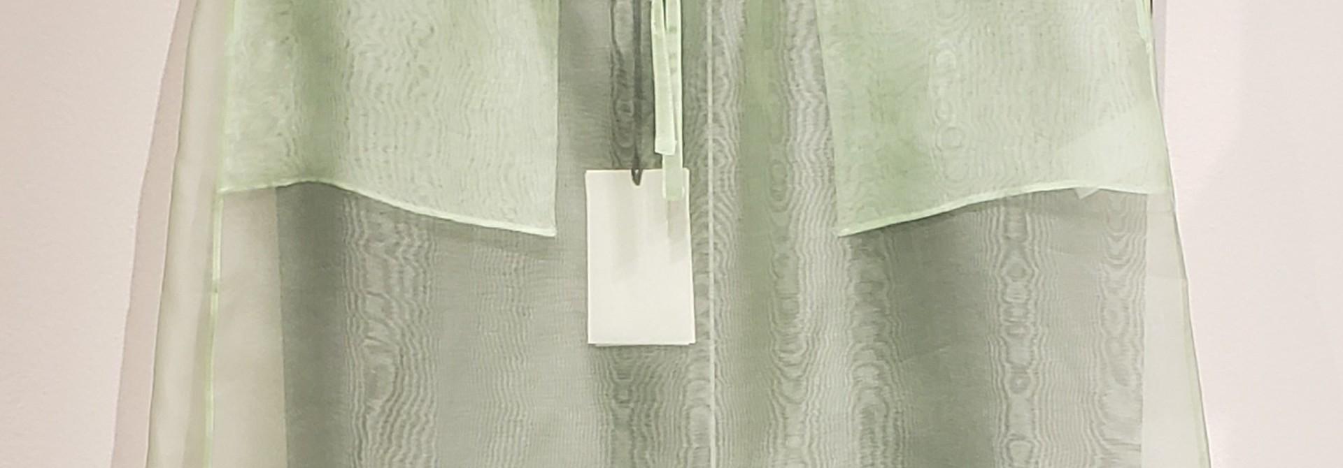 Silk Organza Skirt- Mint - Sz 3