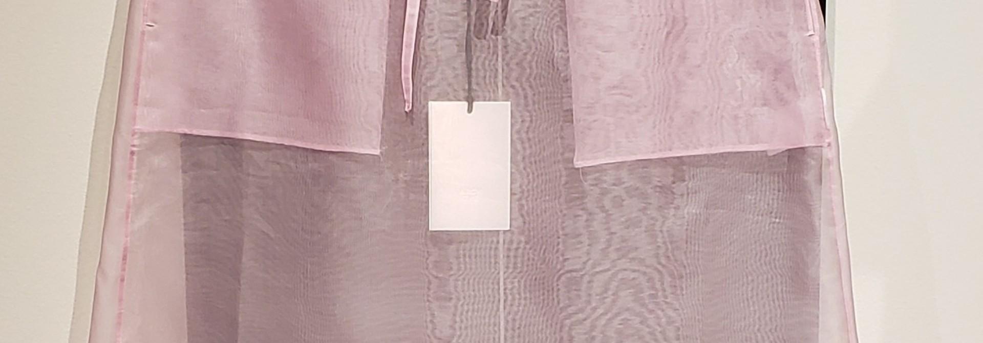 Silk Organza Skirt- Pink - Sz 2