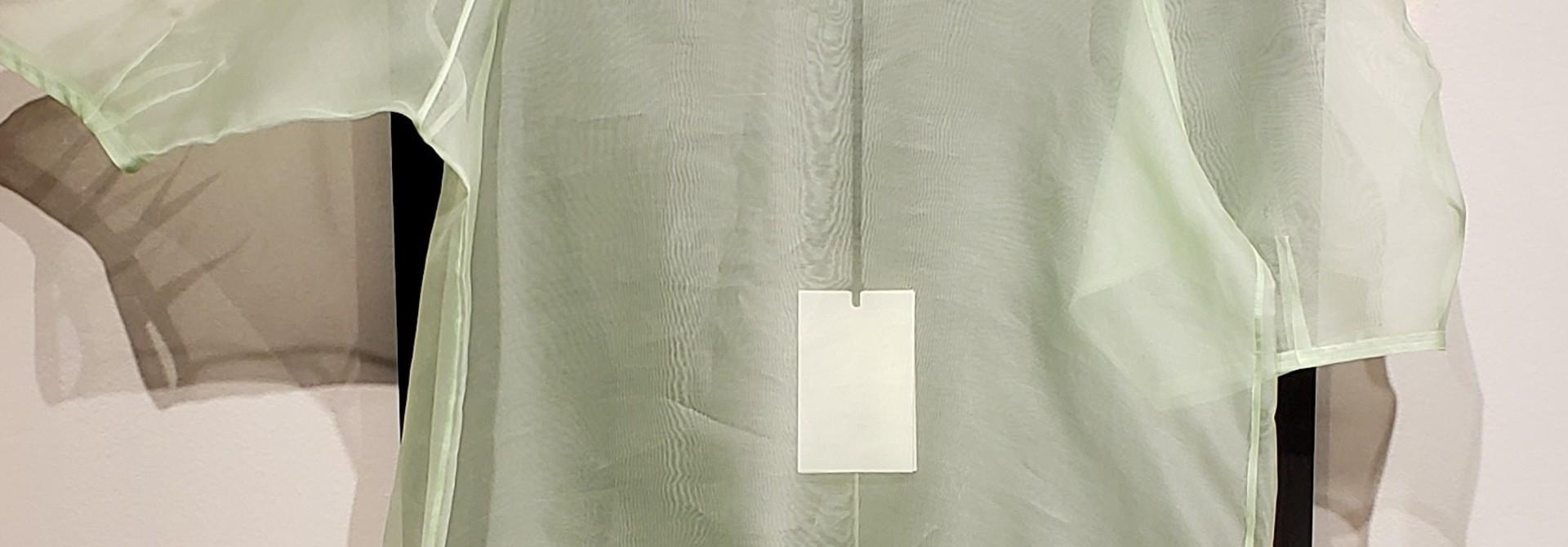 Silk Organza Top - Mint - Sz 2