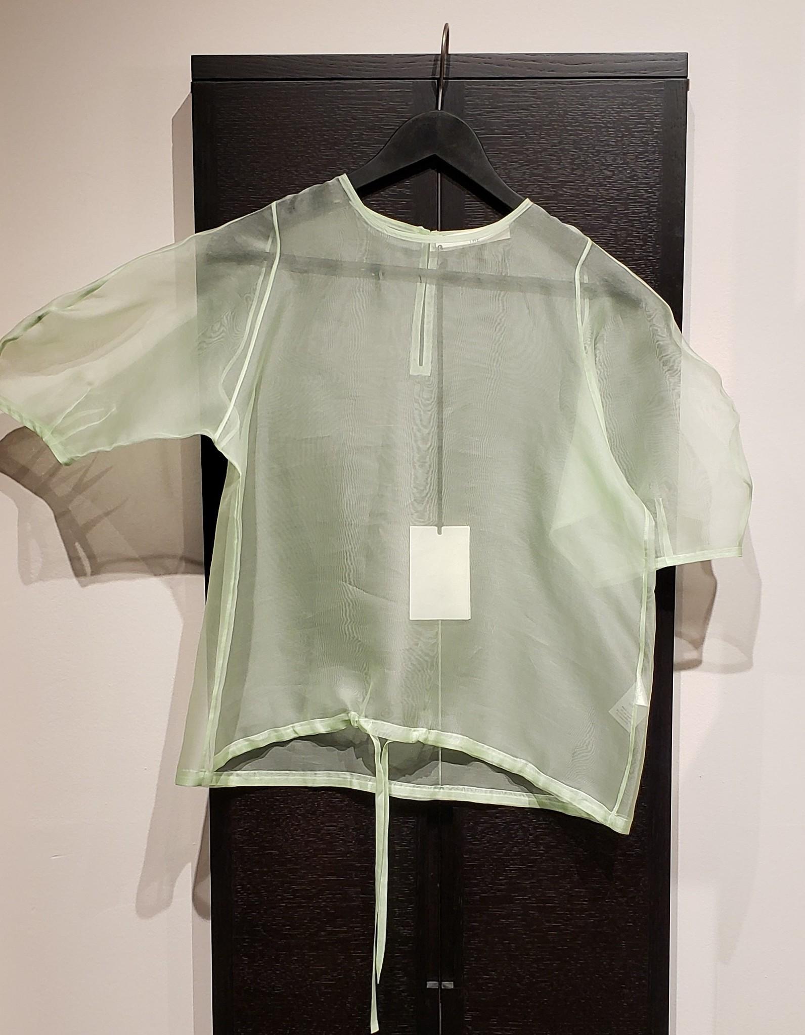 Silk Organza Top - Mint - Sz 2-1