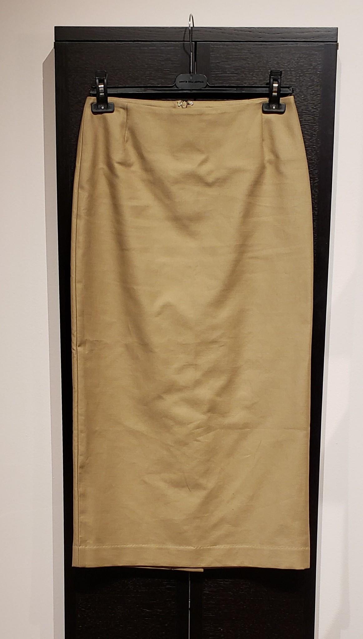 Skirt - Beige - Sz 2-1