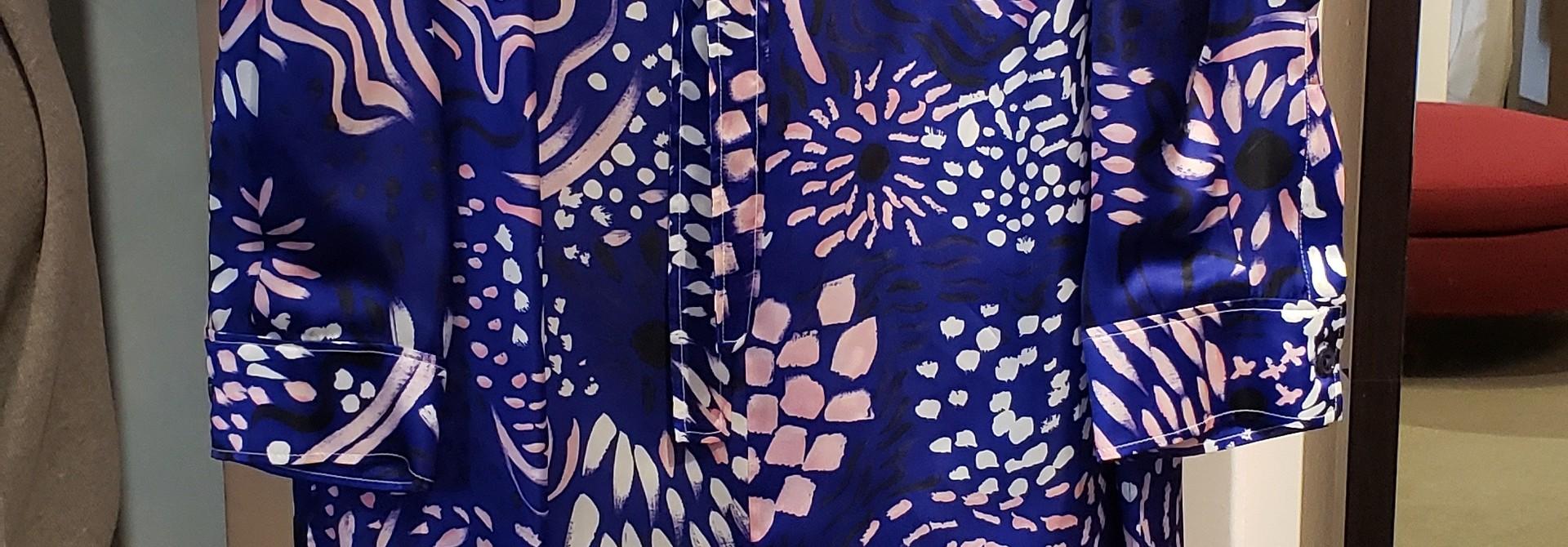 Blouse - Purple - Size 42