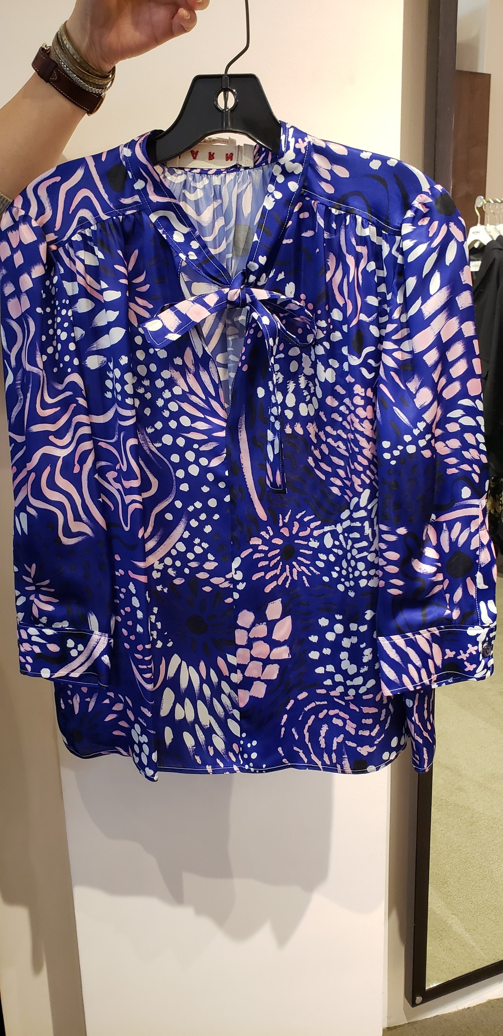 Blouse - Purple - Size 42-2