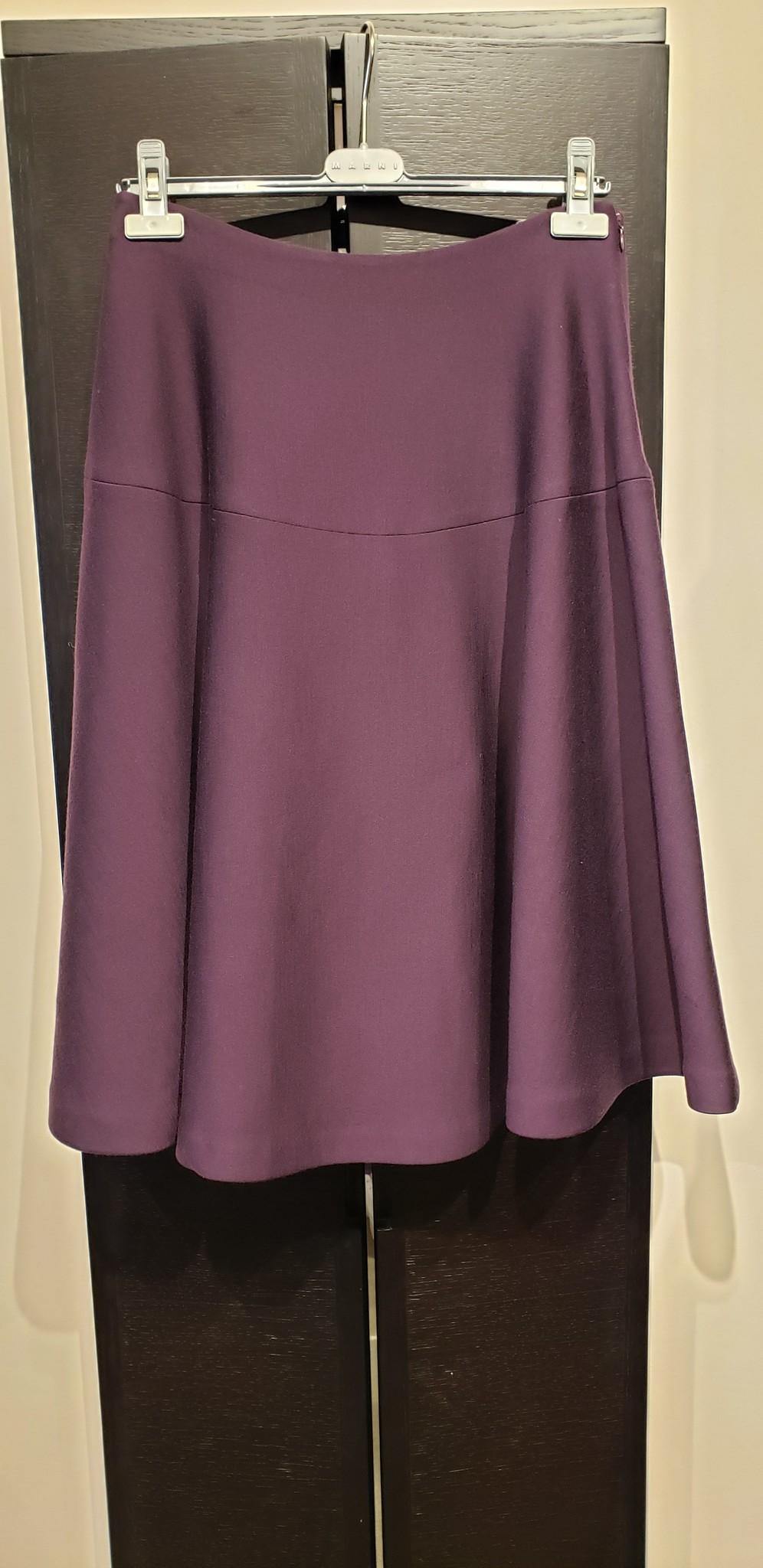 Wool panelled skirt - Sz 42-2