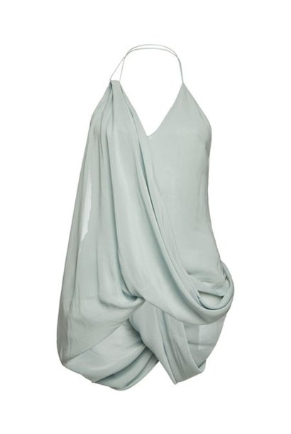 Draped Design Top - Sz 38
