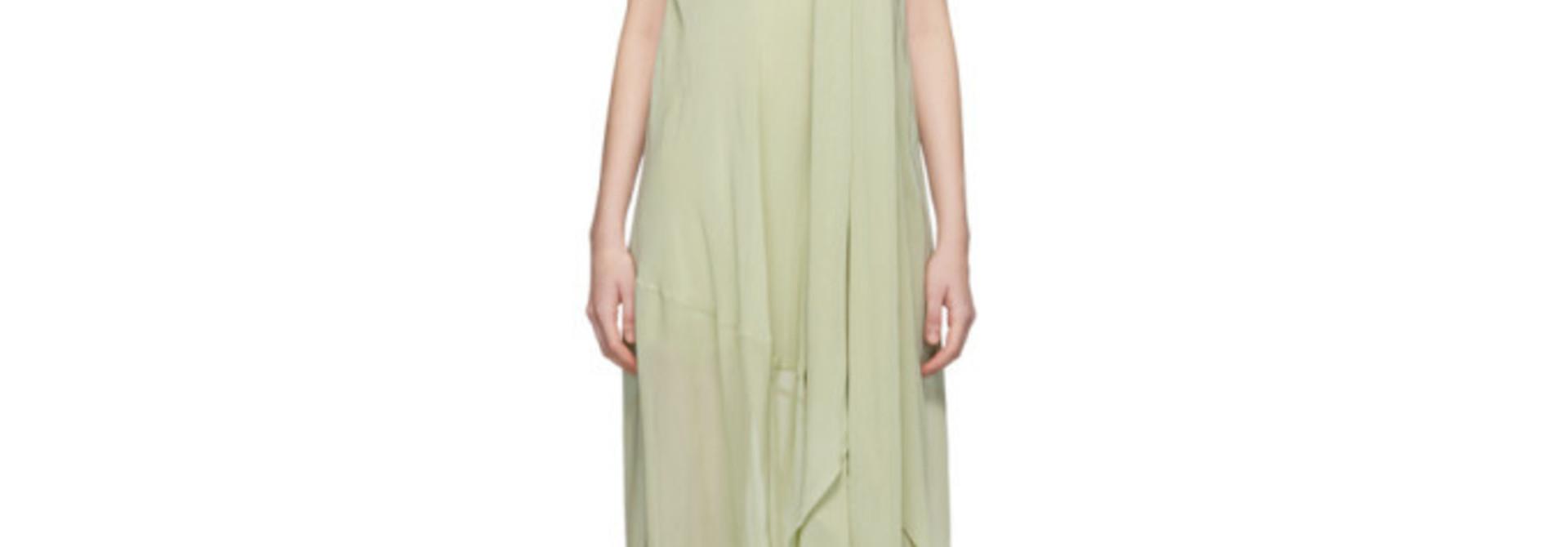 Long Dress - Light Green - Sz 38