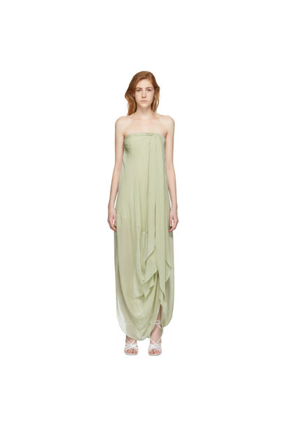 Long Dress - Light Green - Sz 38
