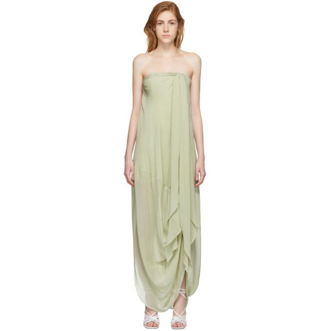 Long Dress - Light Green - Sz 38-1