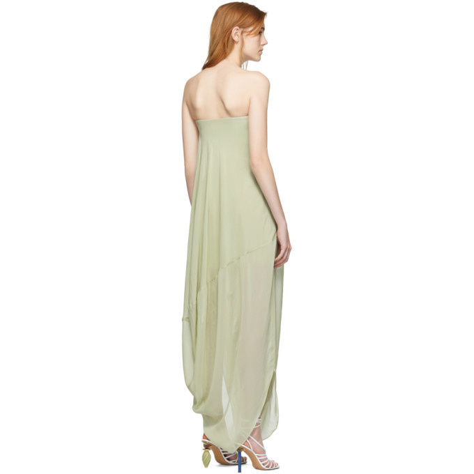 Long Dress - Light Green - Sz 38-2