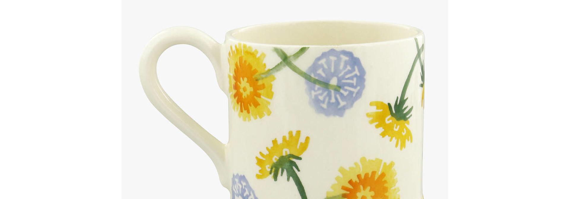 Dandelion - 1/2 Pint Mug
