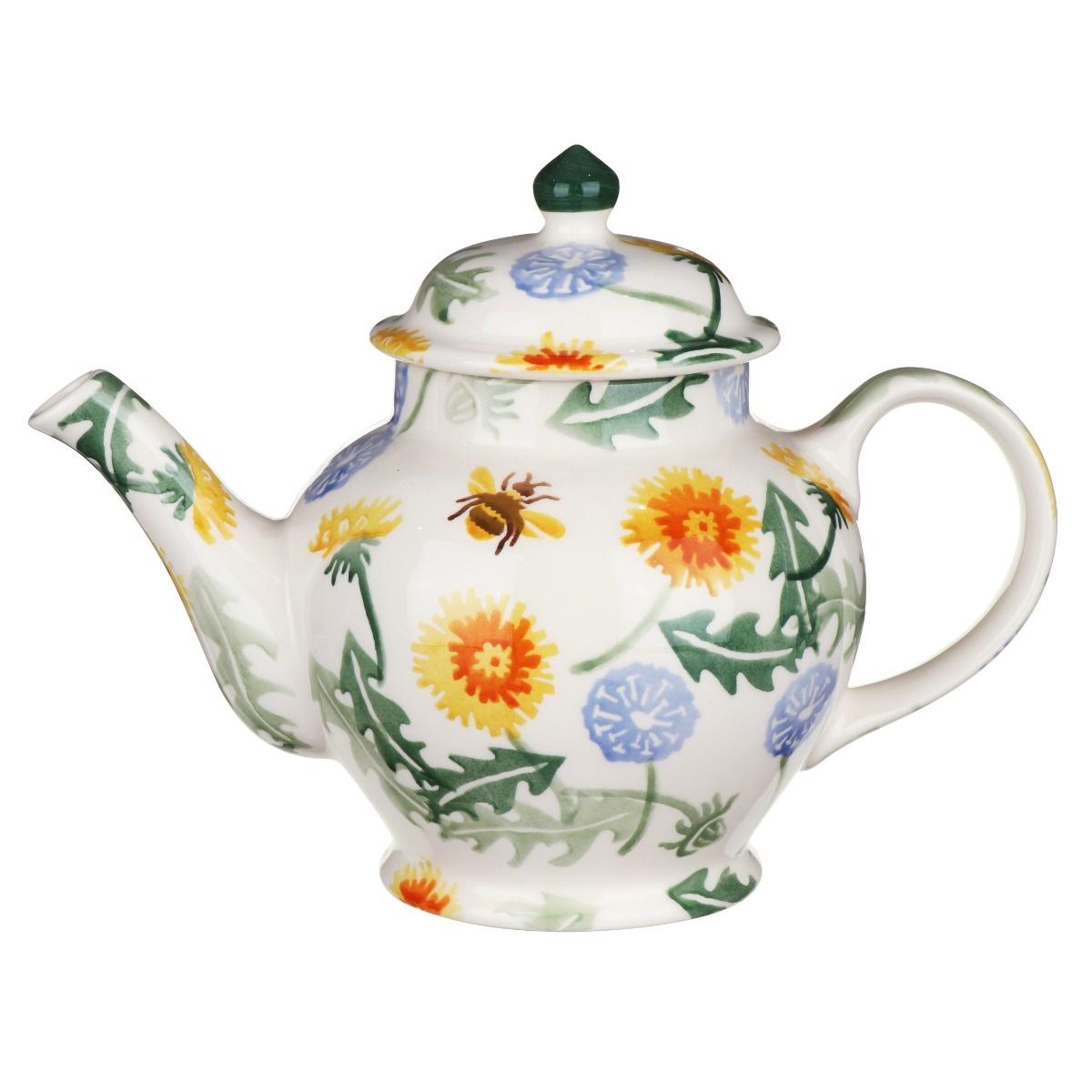 Teapot - Dandelion - 3 Mug-1