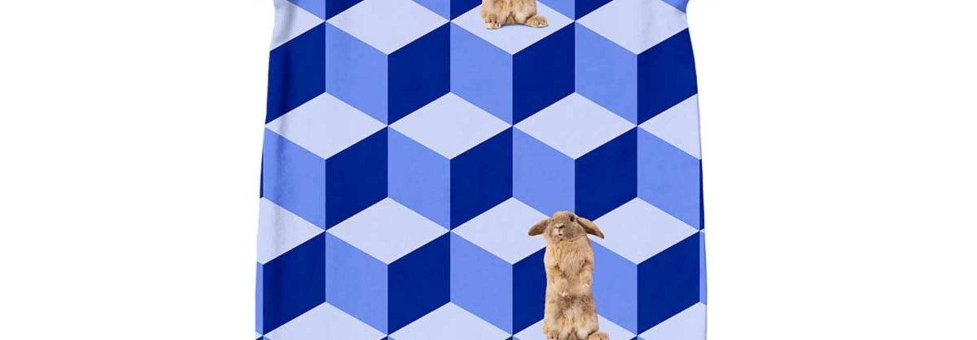 Jumpsuit - Bunny - Sz. 2/4 mo.