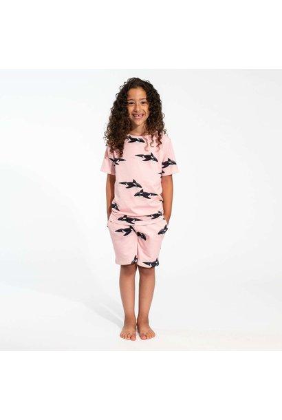 T-shirt + Short Set - Pink - Sz.  2