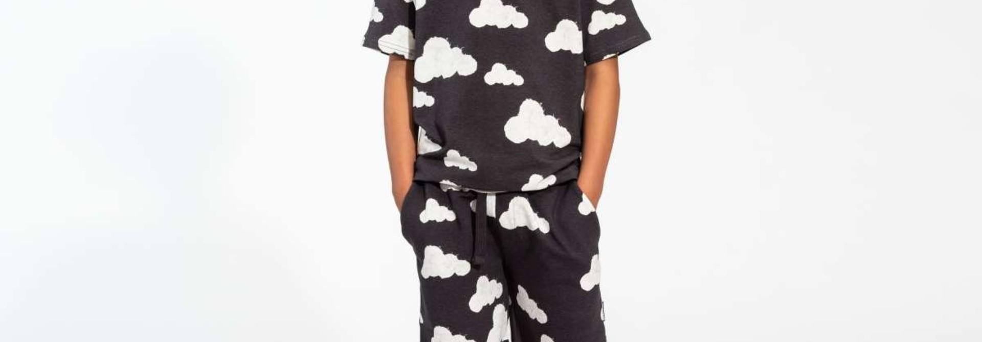 T-shirt + Short Set - Cloud - Sz.  5/6 yrs.