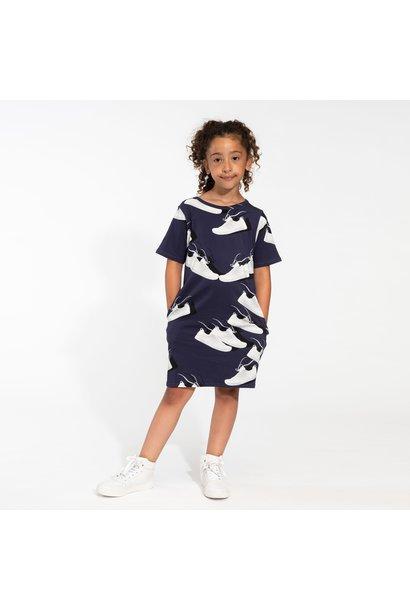 T- Shirt Dress - Sneaker - Sz 2 yrs