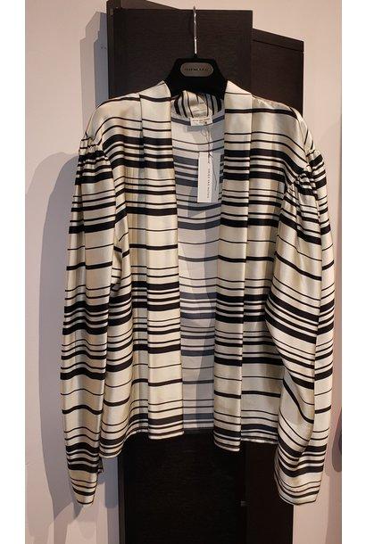 Wrap style blouse - Sz. 38