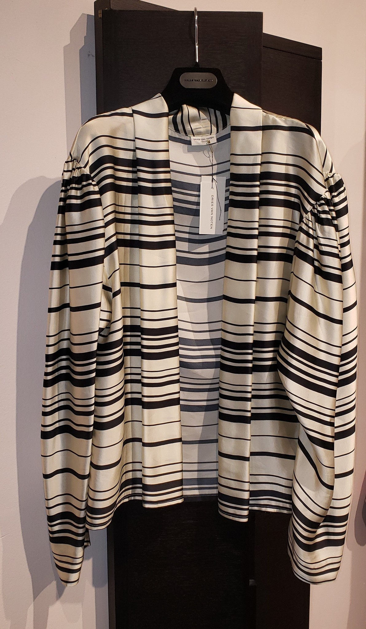Wrap style blouse - Sz. 38-1