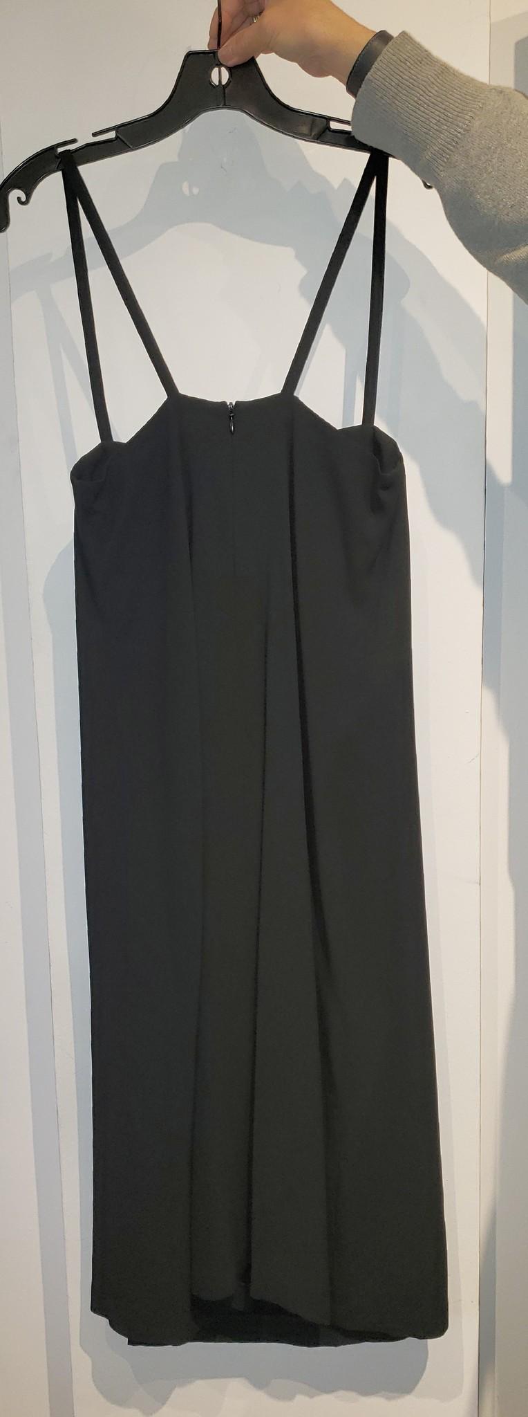 Bra Style Dress - Black - Sz. 40-2