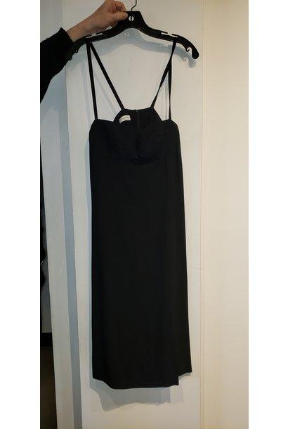 Bra Style Dress - Black - Sz. 40
