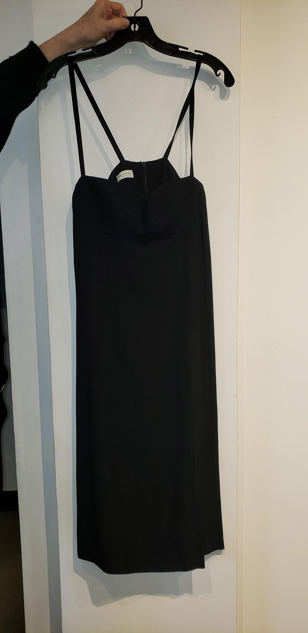 Bra Style Dress - Black - Sz. 40-1