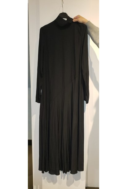 Dress Full length - Blk - Sz. 38