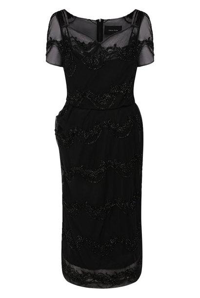 Dress S/S - Black - Sz 10 UK