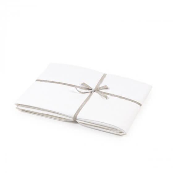 Flat Sheet - Madison - White - King-1