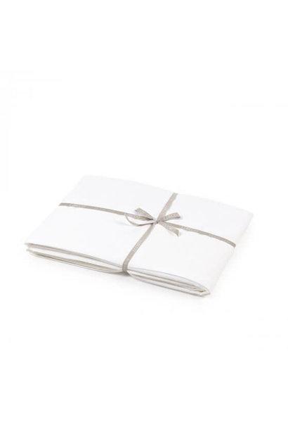 Flat Sheet - Madison - White - Queen
