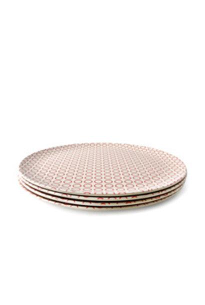 "Plate - Circles - 8"""
