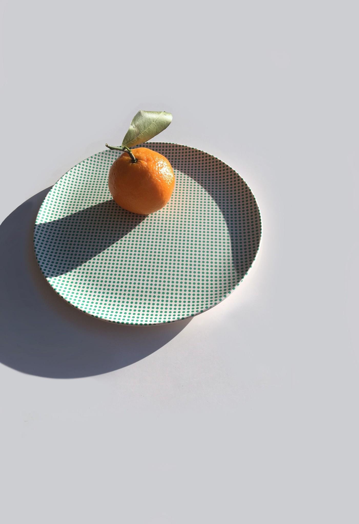 "Plate - Popdot - 8""-2"