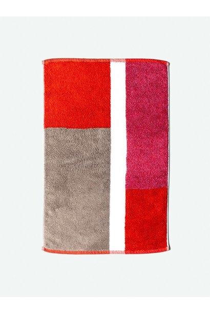 Bath Mat - Piet - Red