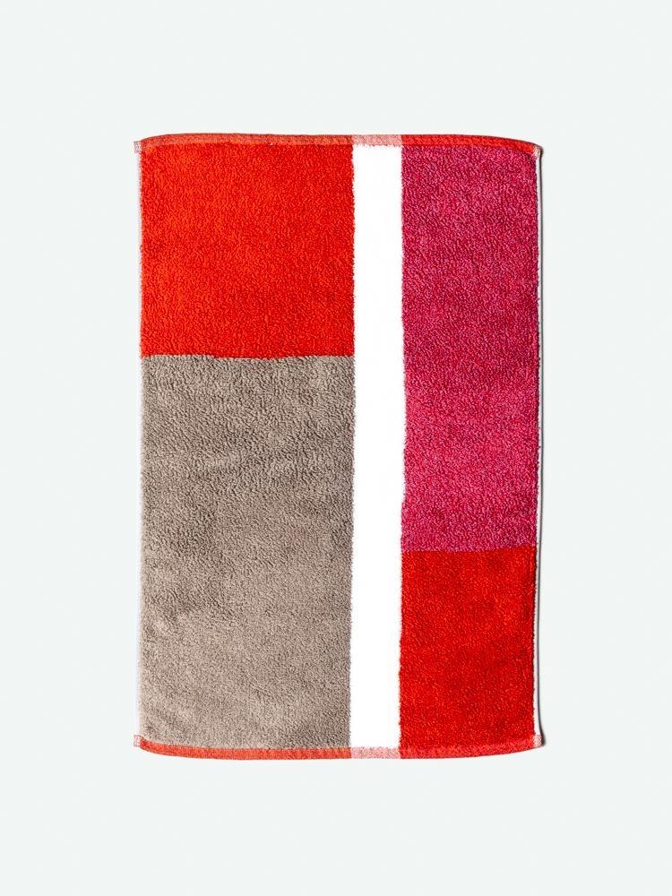 Bath Mat - Piet - Red-1