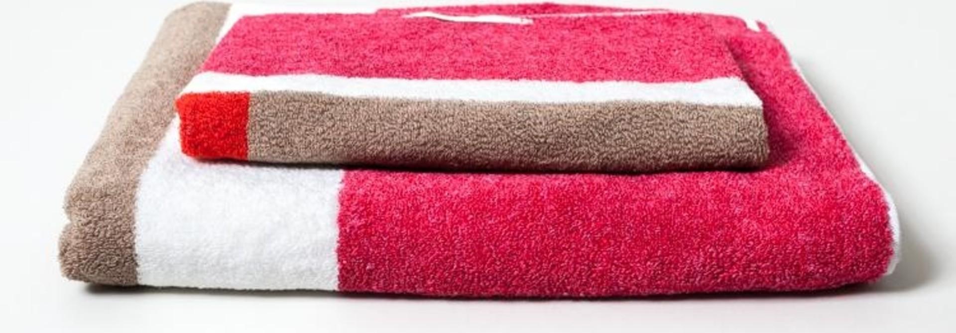Hand Towel - Piet - Red