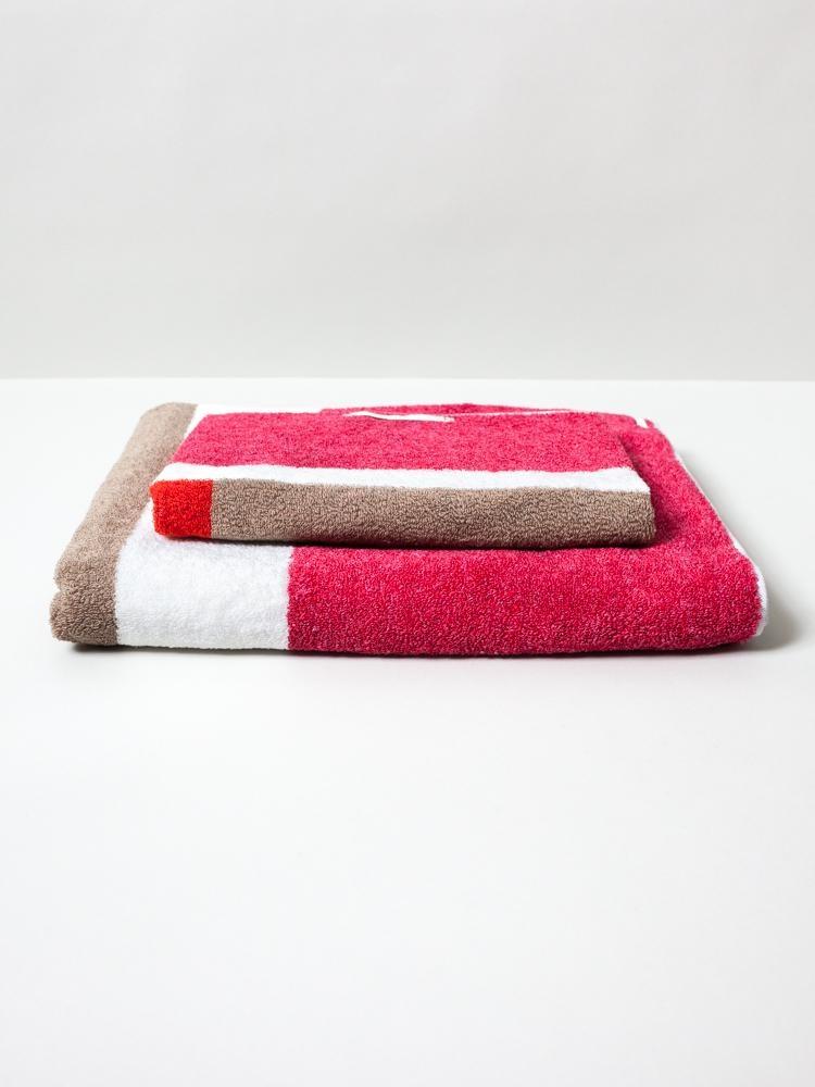 Hand Towel - Piet - Red-1