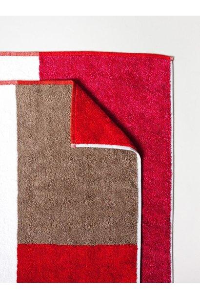 Bath Towel - Piet - Red