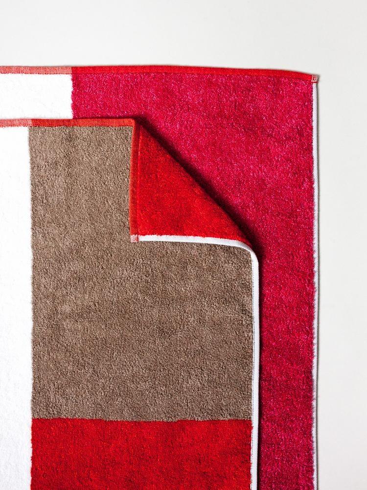 Bath Towel - Piet - Red-1