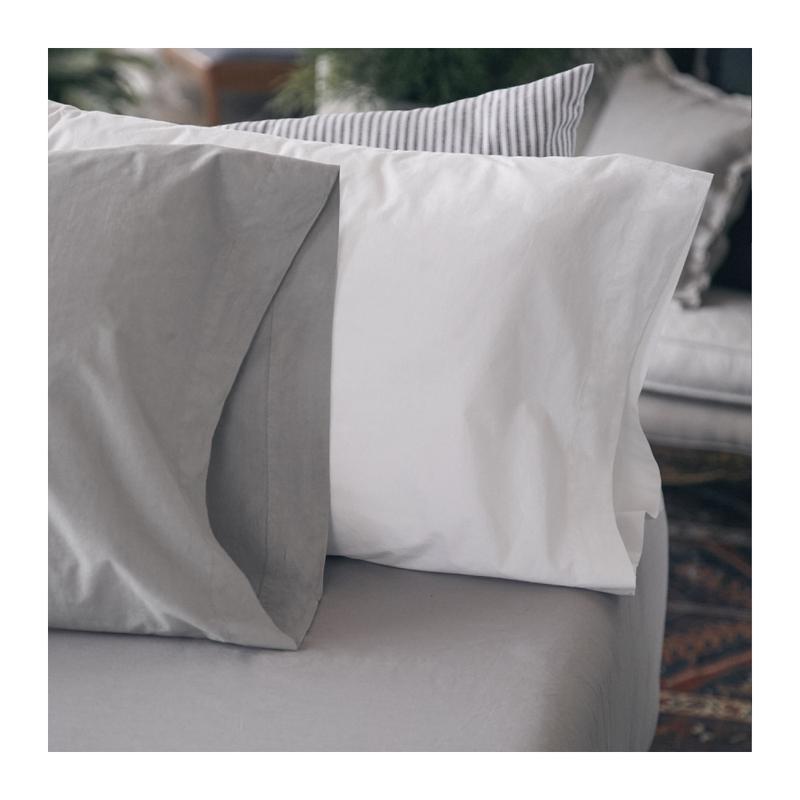 Pillow Sham - Mica - Grey - Queen-1