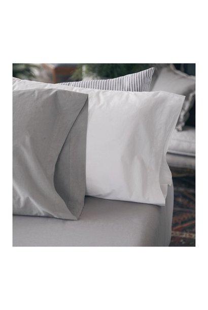 Flat Sheet - Mica - Grey - Queen