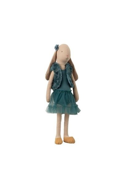 Bunny Ballerina - Petrol - Sz 4