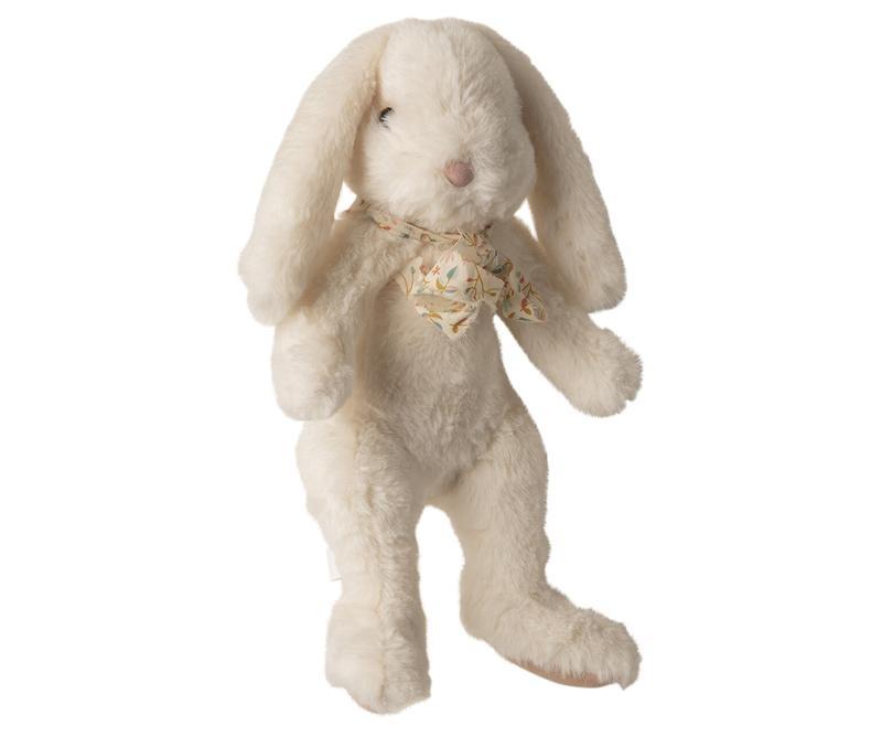 Fluffy Bunny White - Large-1
