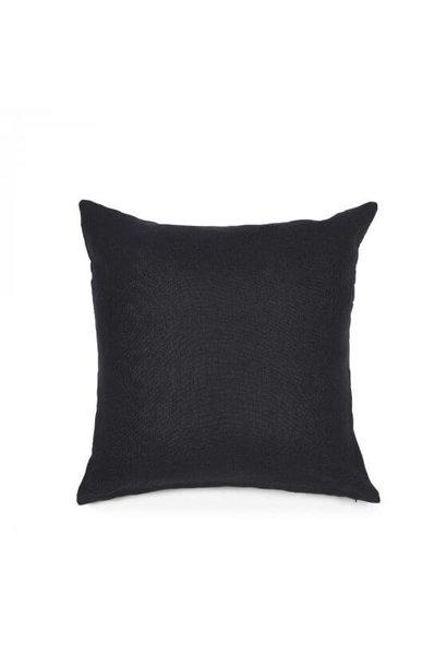 Cushion Cover - Hudson - Black - Lge